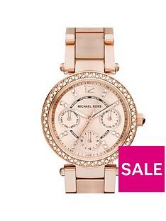 michael-kors-mk6110-mini-parker-rose-gold-tone-chronograph-ladies-watch