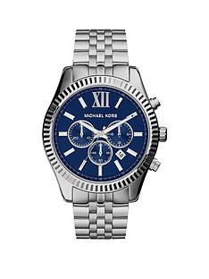 michael-kors-mk8280nbsplexington-silver-tonenbspmensnbspwatch