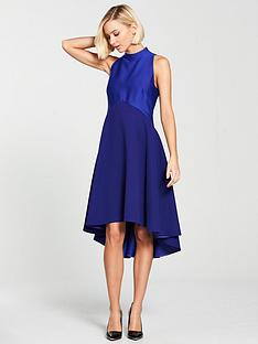 ted-baker-kandal-high-neck-dropped-hem-dress