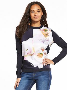 ted-baker-livvi-gardenia-printed-jumper