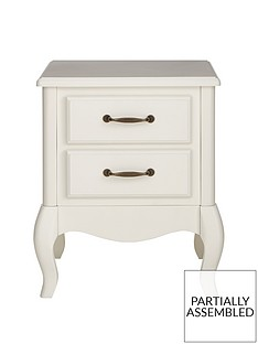 Olivia 2 Drawer Bedside Chest