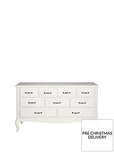 Olivia Wide 9 Drawer Chest