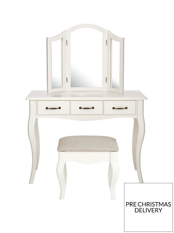 Olivia Dressing Table Mirror And Stool Set Very Co Uk