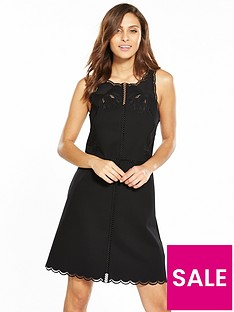 ted-baker-codi-embroidered-scalloped-hem-dress-black