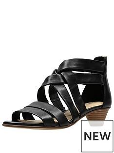 clarks-mena-silk-low-heeled-sandal-black