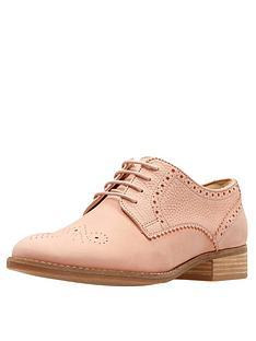 clarks-netley-rose-brogue-pink