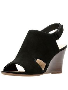 clarks-raven-mist-wooden-heel-wedge-sandal-black