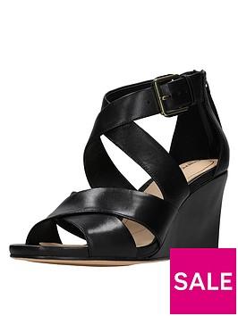 clarks-ysabelle-jules-cross-strap-wedge-sandal-black