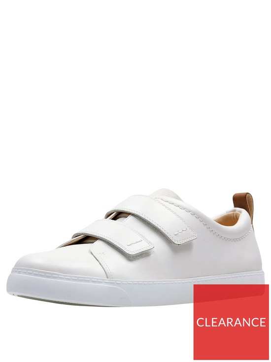 187bd08a17dc11 Clarks Glove Daisy Trainer - White