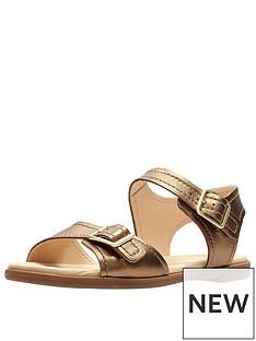 clarks-bay-primrose-two-strap-flat-sandal-bronze-metallic