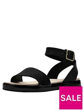 clarks-botanic-ivy-flat-sandal-black