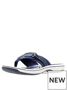 clarks-brinkley-sea-flip-flop-navy
