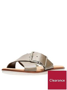 clarks-clarks-kele-heather-cross-strap-flat-slide-sandal