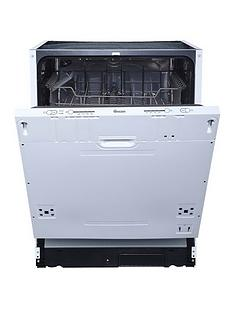 Swan SDWB7040W 12-Place Full Size Integrated Dishwasher - Next Day Delivery - White