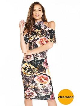 v-by-very-frill-cold-shoulder-dress