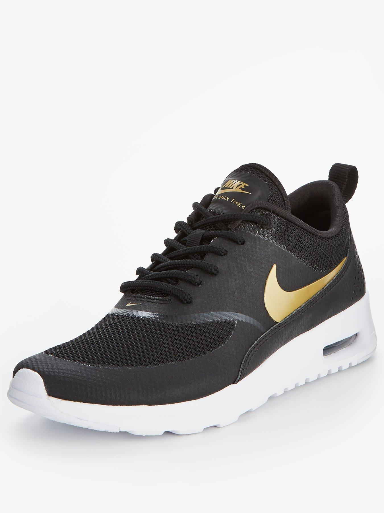 Nike Air Max Thea Metallic - Black/Gold
