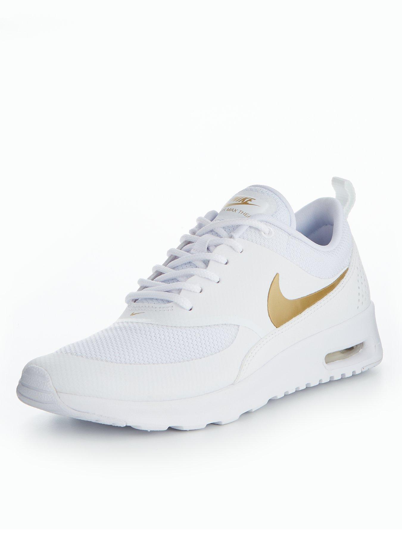 Nike Air Max Thea Metallic - White