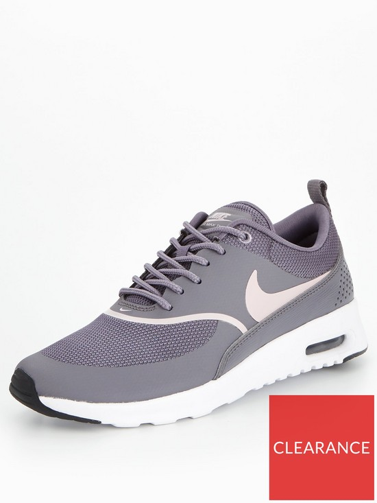 new styles cffc6 8b020 Nike Air Max Thea - Grey/Pink | very.co.uk