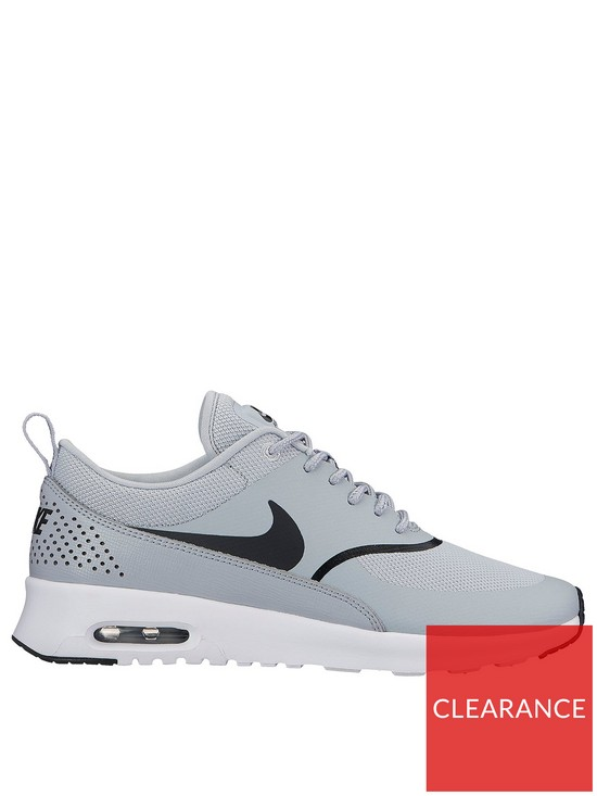 c8daa15dea40 Nike Air Max Thea - Grey Black