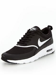 064db7104fa Nike Air Max Thea - Black White