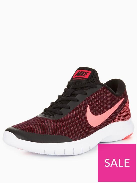 68e284cc5c Nike Flex Experience RN 7 - Black/Pink | very.co.uk