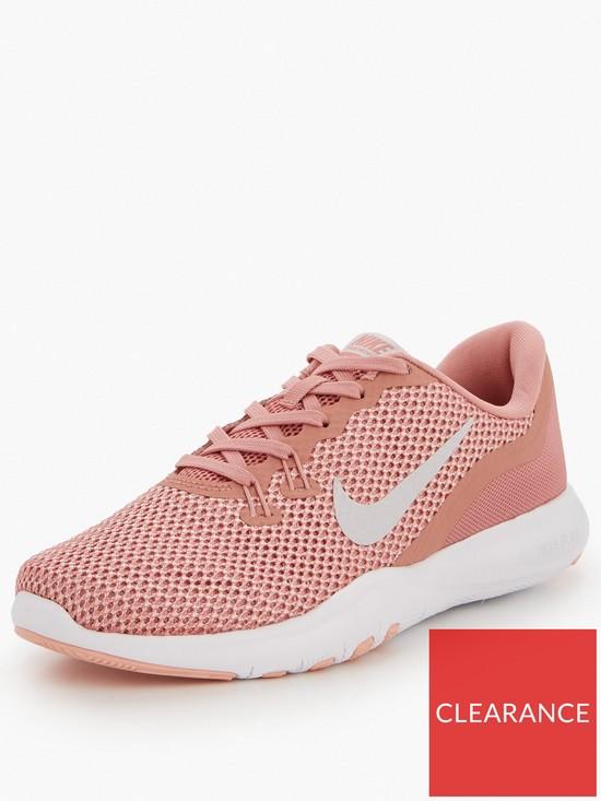 1598aa1be134 Nike Flex TR 7 - Pink Grey