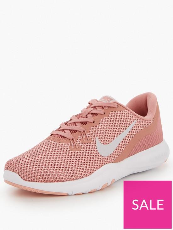 9f5ba49c87b Nike Flex TR 7 - Pink/Grey | very.co.uk