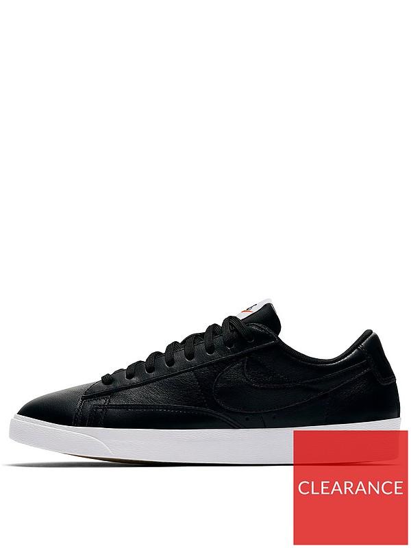 sells best deals on best quality Blazer Low Leather - Black
