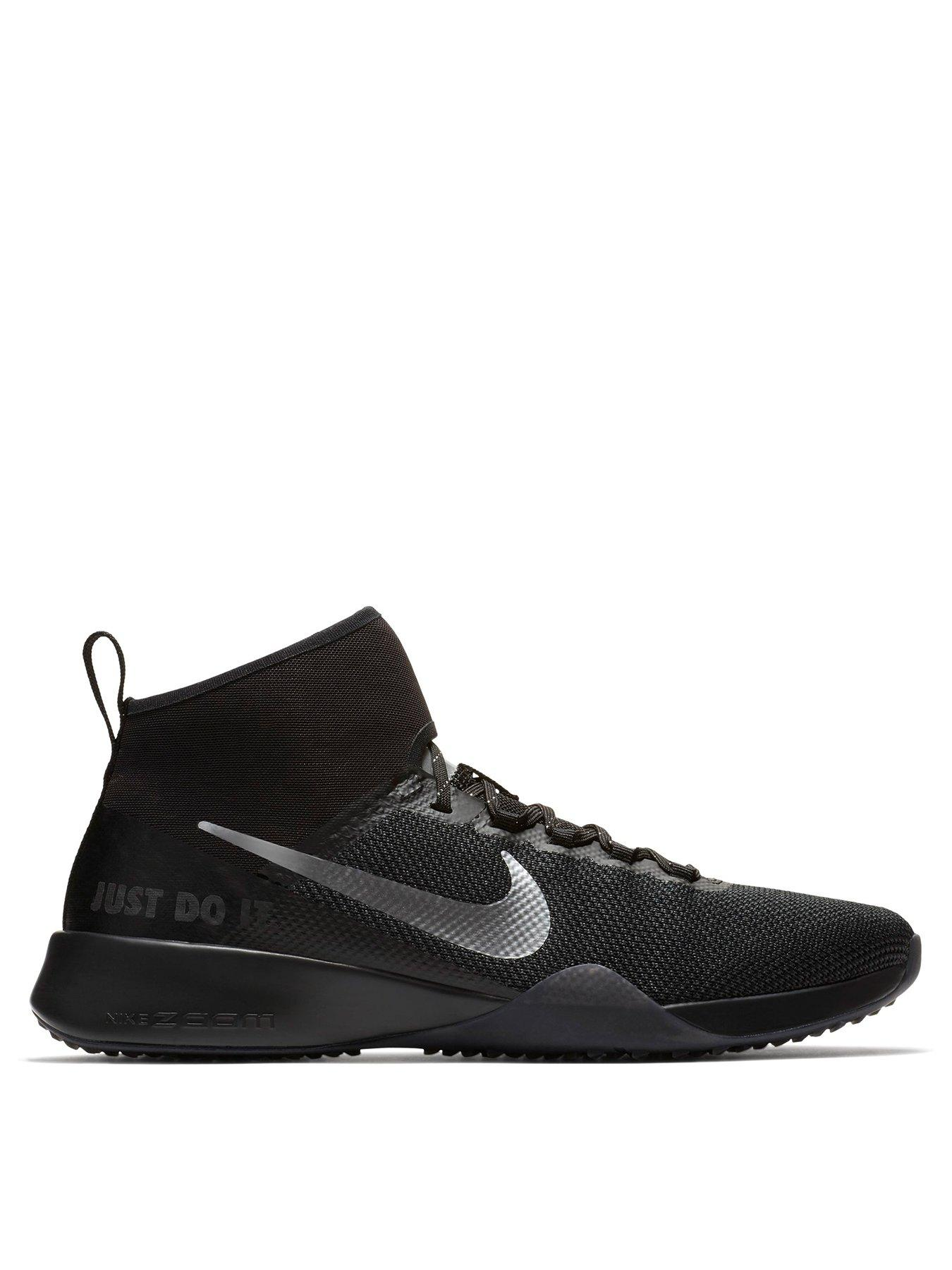 huge selection of a2376 922b5 nike mens darwin low top sneakers black (black black white)  nike air zoom  strong 2 black