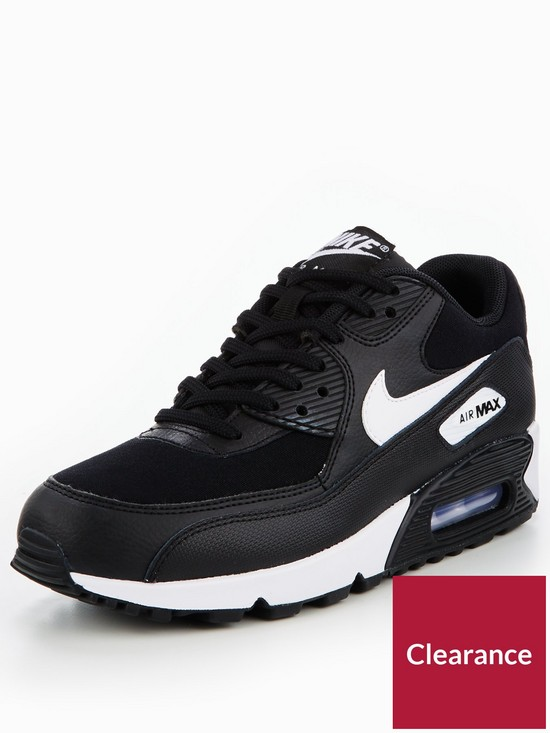 uk availability ebfe4 d53d1 ... 537384 082 mens sneakers 7d751 3c3ec  cheap nike air max 90 essential  black white very c0bf2 65fad