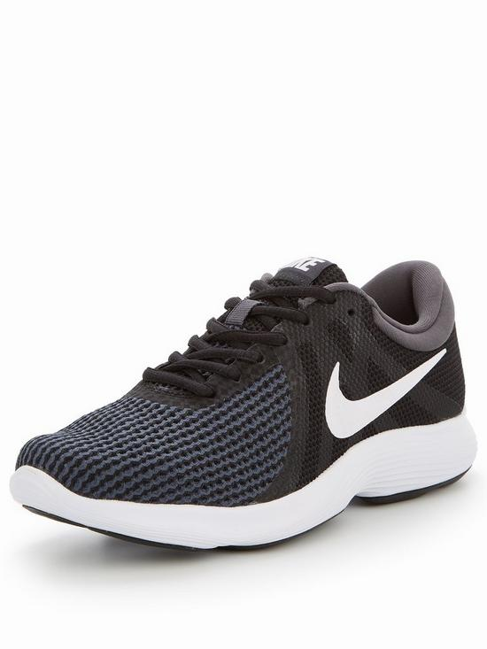 a9daff5f857a9 Nike Revolution 4 - Black White