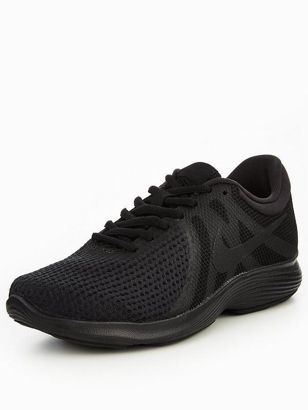 Womens Black Nike Revolution 4 | DW Sports