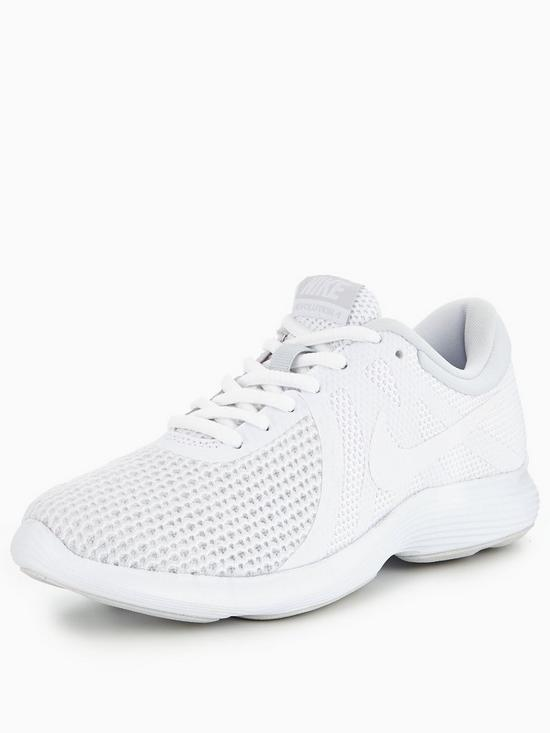 more photos e9b0f 18f09 Nike Revolution 4 - White
