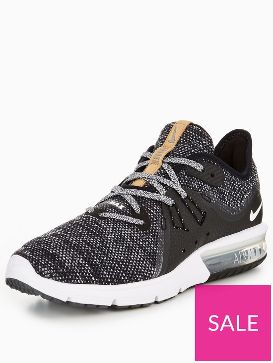 6914054ec3 Nike Air Max Sequent 3 - Black/White | very.co.uk
