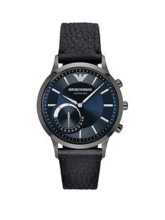 emporio-armani-connected-black-leather-strap-hybrid-smartwatch