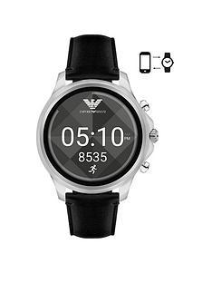 emporio-armani-emporio-armani-connected-black-leather-strap-display-smartwatch