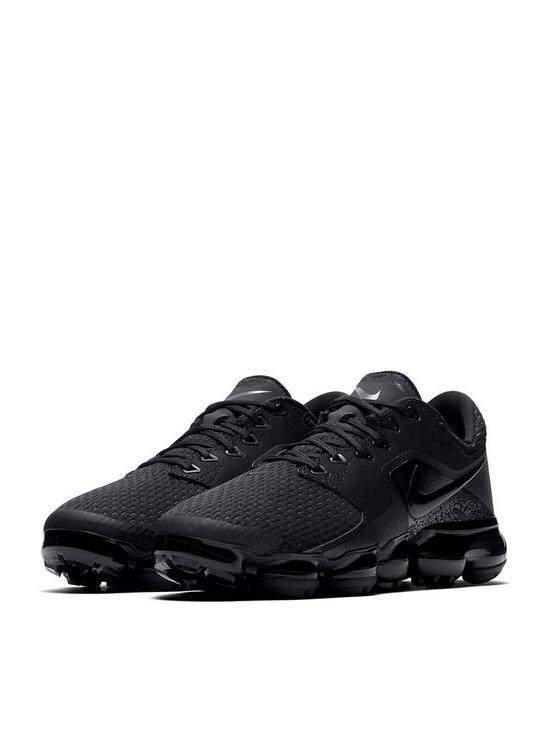 69ecb4ecfcca59 Nike Air VaporMax Junior Trainers - Black