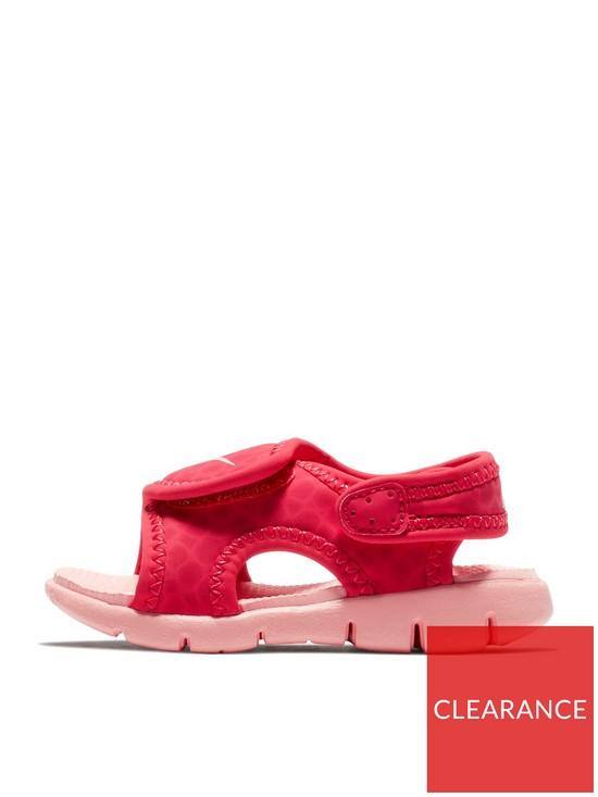 12dadc2d8 Nike Sunray Adjust 4 Infant Sandal - Pink