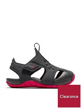 nike-sunray-protect-2-infant-sandals-greypink