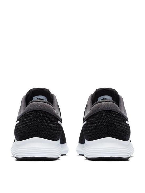 cce084abd9 ... Nike Revolution 4 Junior Trainer - Black/Grey/White. View larger