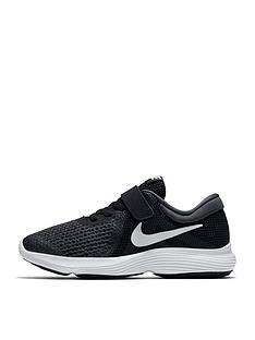 new style 71f0b 54fd3 Nike Revolution 4 Childrens Trainer - Black