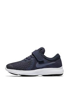 finest selection 6d34a 62bc5 Nike Revolution 4 Childrens Trainer - Navy Grey