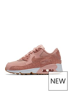 nike-nike-air-max-90-se-leather-childrens-trainer