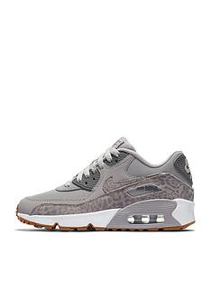 nike-nike-air-max-90-leather-se-junior-trainer