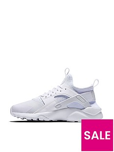 nike-air-huarache-run-ultra-junior-trainer-white-white
