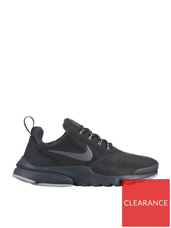 timeless design 7d79c 8305e Nike Presto Fly Junior Trainer - BlackBlueGrey