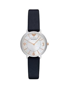 emporio-armani-emporio-armani-stainless-steel-mop-dial-with-blue-leather-strap-ladies-watch