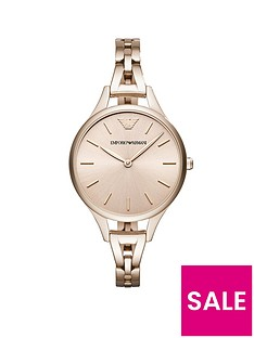 emporio-armani-pink-ip-stainless-steel-bracelet-ladies-watch
