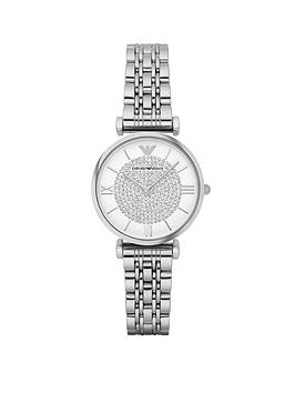 emporio-armani-stainless-steel-bracelet-with-glitz-ladies-watch