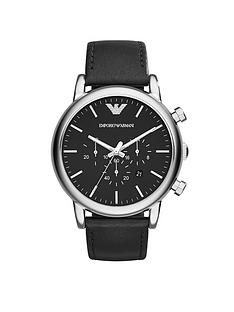 emporio-armani-stainless-steel-black-leather-strap-gents-watch